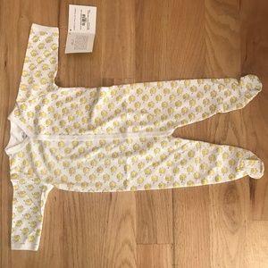 Infant Snap Pajamas Elephant 3-6 M Roberta Roller